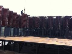 石城县伟成矿山设备有限责任公司-公司螺旋溜槽安装