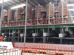 石城县伟成矿山设备有限责任公司-公司螺旋溜槽客户使用现场