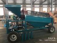 石城县伟成矿山设备有限责任公司-移动式0510滚筒筛(带发电机)